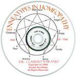 CD of the Enneagram in Homeopathy
