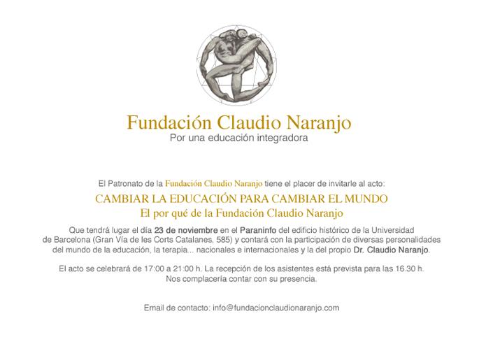 Foundación Claudio Naranjo Annuncio